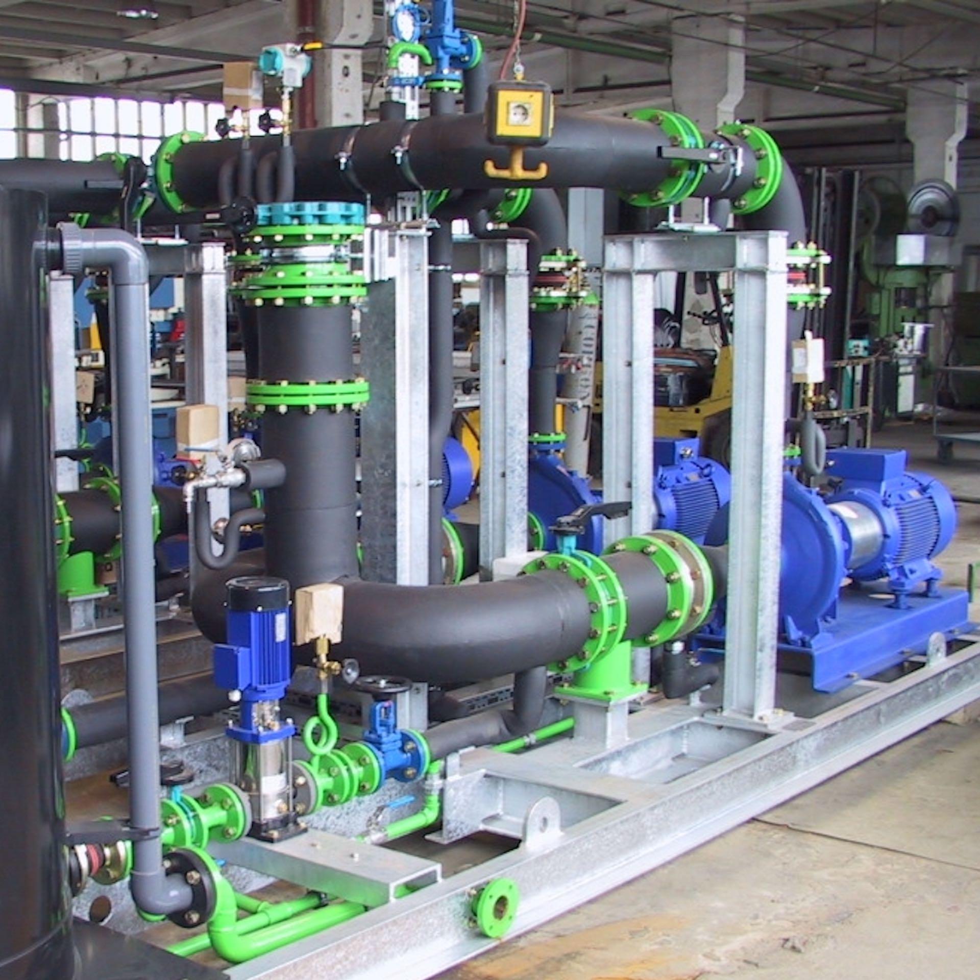 GWA_cooling_systems_technology_part_plant_pump_group_Gesellschaft_fuer_Waerme_und_Anlagentechnik_mbH