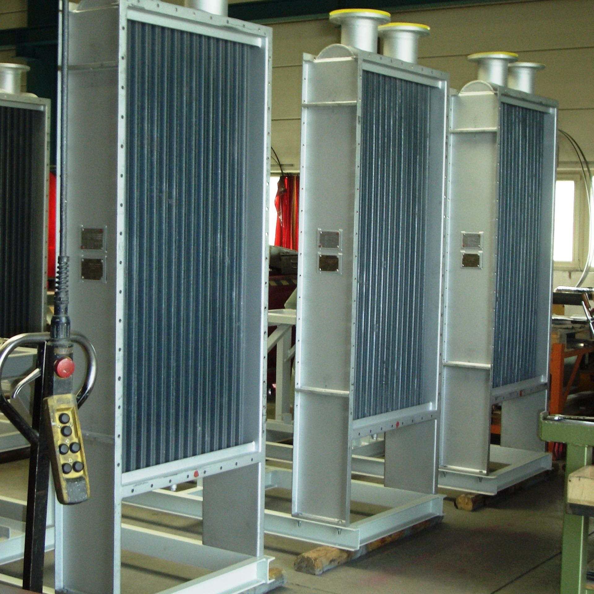 GWA_heat_exchanger_air_heater_and_air_cooler_carbon_steel_elliptical_steel_galvanized_tubes_and_extended_sidewalls_Gesellschaft_fuer_Waerme_und_Anlagentechnik_mbH