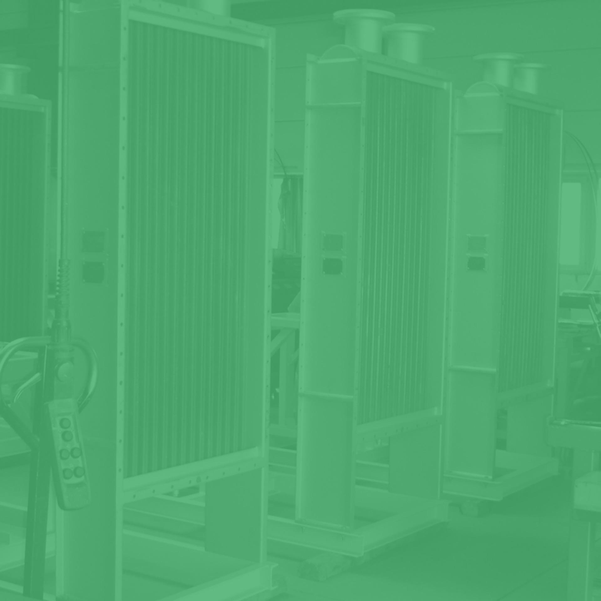 GWA_heat_exchanger_air_heater_and_air_cooler_carbon_steel_elliptical_steel_galvanized_tubes_and_extended_sidewalls_Gesellschaft_fuer_Waerme_und_Anlagentechnik_mbH_monochrom