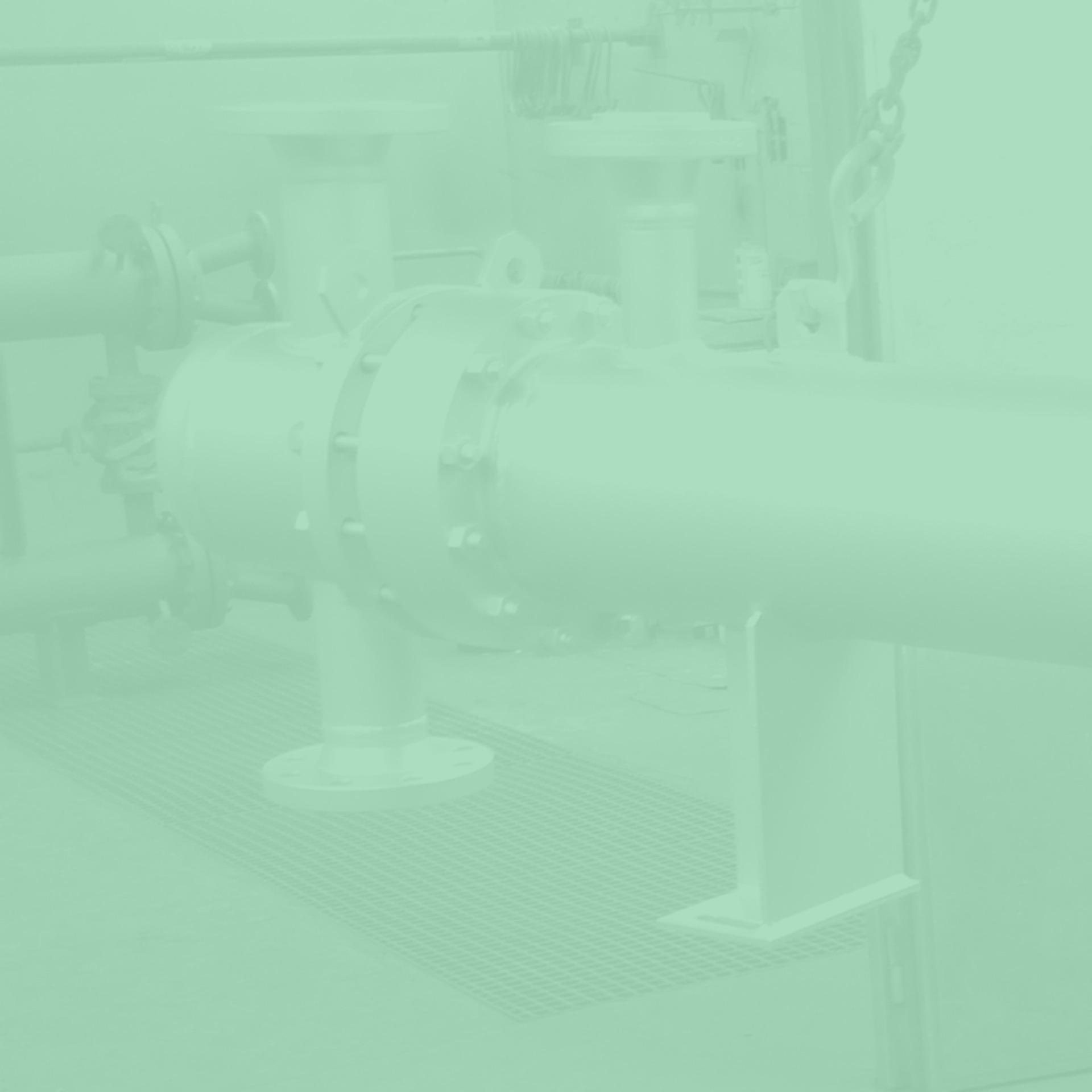 GWA_heat_exchanger_tube_bundle_heat_exchanger_fixed_floor_device_with_compensator_as_natural_gas_preheater_Gesellschaft_fuer_Waerme_und_Anlagentechnik_mbH_monochrom